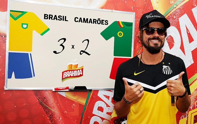 paulo vilhena   palpite  Brasil x Camarões (Foto: Divulgação)