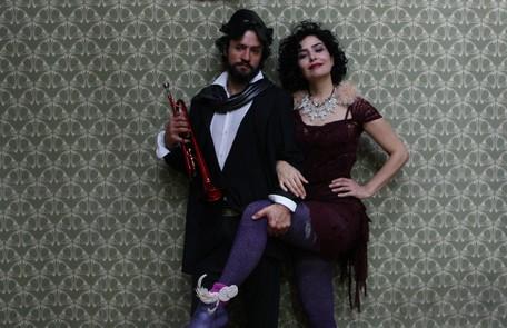 Leticia Sabatella e Fernando Alves Pinto: parceria em 'Caravana Tonteria', primeiro projeto autoral dela Michel Filho