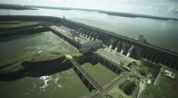 A extinta ilha deu nome à hidrelétrica de Itaipu (Foto: Reprodução/RPC)