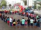 No Amapá, grupo faz ato contra  governo Temer e pede volta de Dilma