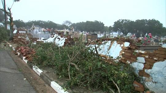 Prejuízo após tornado destruir Jarinu ultrapassa R$ 18 mi, calcula prefeitura
