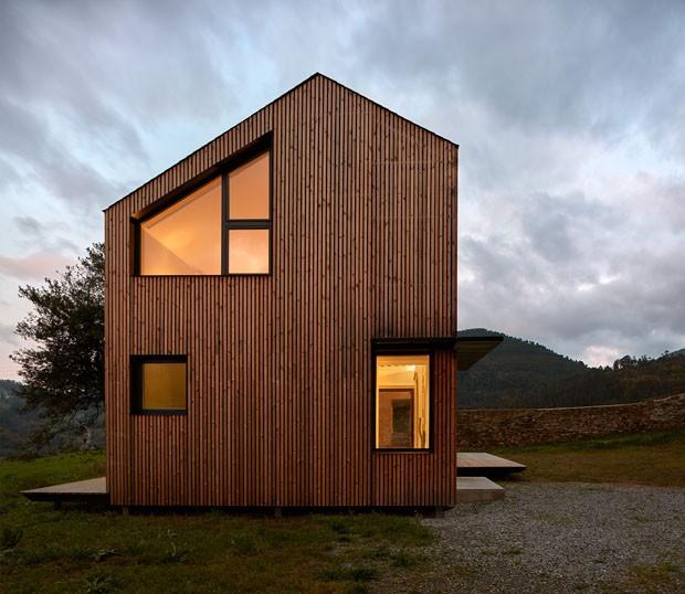 Casa pr fabricada leva 5 horas para ser erguida casa for Casas modernas famosas