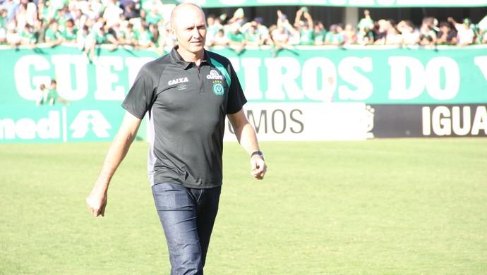 dal pozzo chapecoense técnico (Foto: Diego Carvalho / Aguante Comunicação)