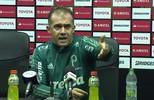 Eduardo Baptista desabafa em coletiva após confusão no jogo contra o Peñarol, no Uruguai
