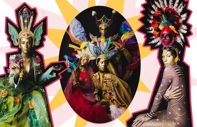 Bruna Abreu: coleção Família Arco-Íris (Foto:  ,)