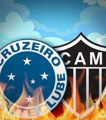 Carrossel Cruzeiro X Atlético-MG, Céu X Inferno 280 (Foto: infoesporte)