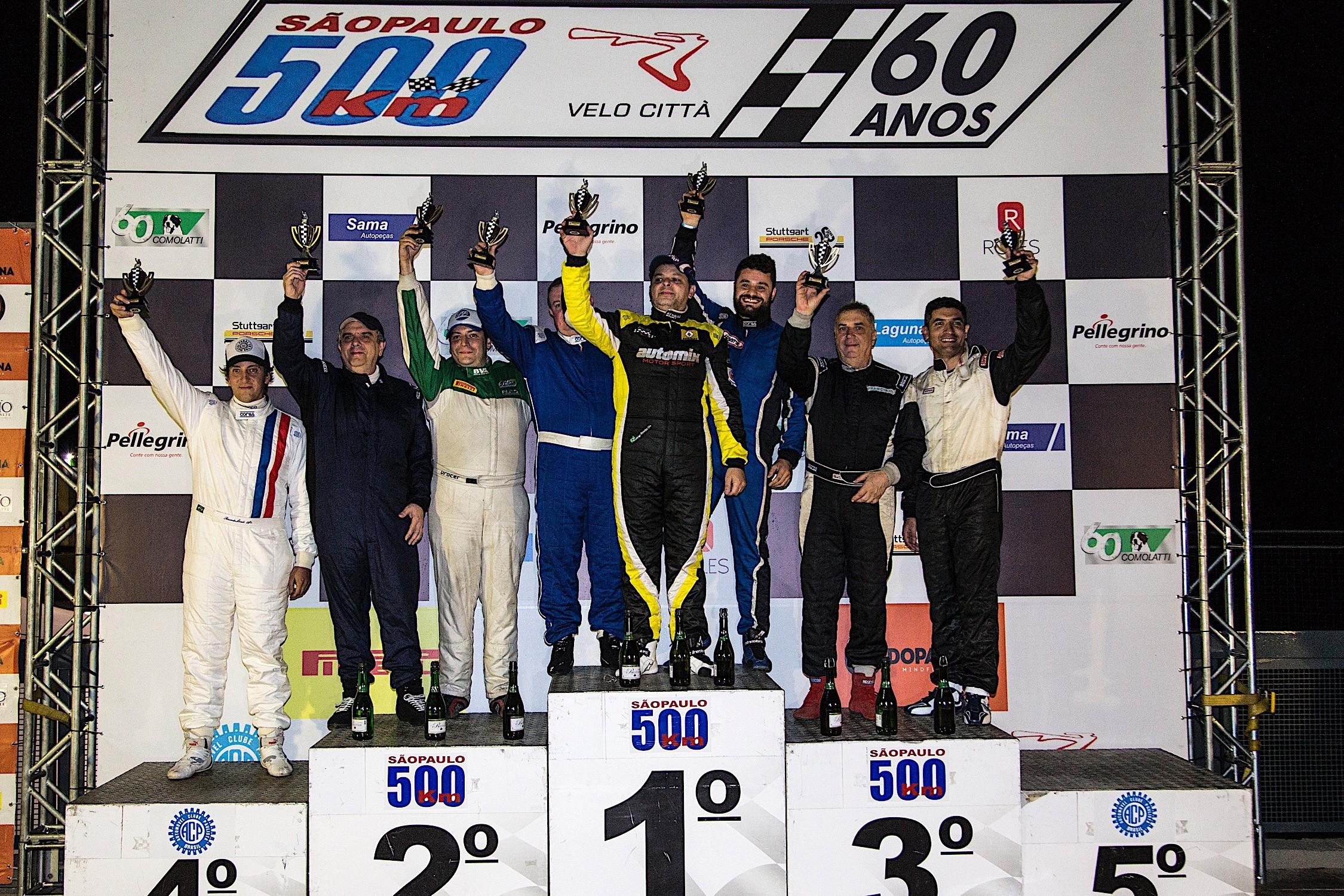 Resultado final dos 500 Km de São Paulo categoria GT2 (Foto: Bruno Terena)