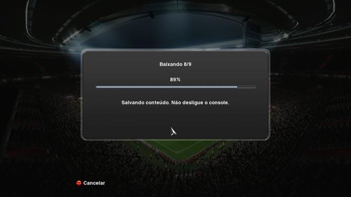 Pro Evolution Soccer 2014: como atualizar a Libertadores no game (Foto: Reprodução/Murilo Molina)