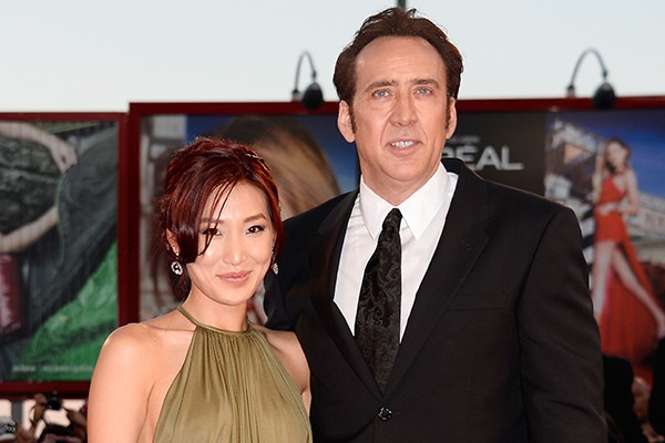 Nicolas Cage e Alice Kim (Foto: Getty Images)