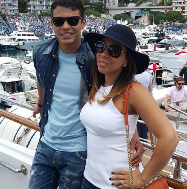 Thiago Silva no GP de Monaco