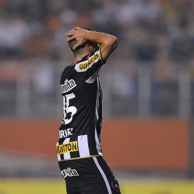 Gabriel, Botafogo x Santos (Foto: Mauro Horita / Ag. Estado)