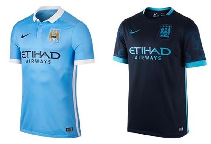 Camisas Manchester City