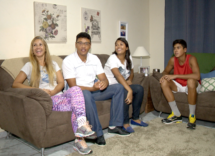 União familiar para mudar os hábitos irá fazer a diferença? Boa sorte e determinação pessoal (Foto: Divulgação/TV Gazeta)