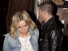 Kate Hudson e Nick Jonas curtem noite a dois