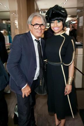 Giuseppe Zanotti e Nicki Minaj (Foto: Getty Images)