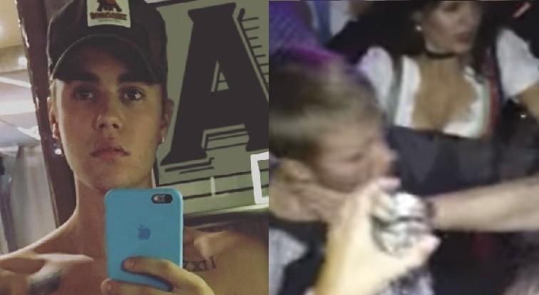 Justin Bieber se envolve em confuso em boate em Munique, na Alemanha (Foto: Reproduo)