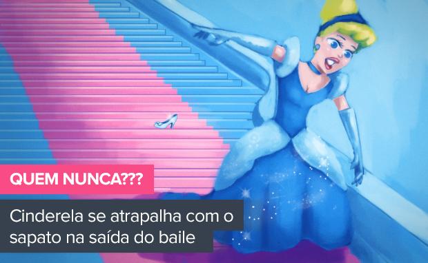 Cinderela  (Foto: Ilustração: Enderson Santos / Ego)