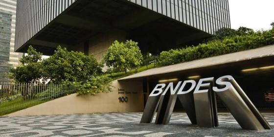A fachada do prédio do BNDES, no Rio de Janeiro (Foto: Guilherme leporace / Agência O Globo)