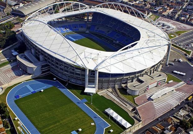 Instalação do Centro Olímpico na Barra da Tijuca (Foto: Divulgação)