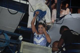 Daniela Mercury no carnaval de Salvador de 2014 (Foto: Wallace Barbosas e Vinicios Eduardo / Agnews)