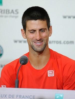 Novak Djokovic tênis Roland Garros entrevista (Foto: Divulgação)