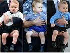 Príncipe George completa 2 anos e mostra looks estilosos e baratinhos