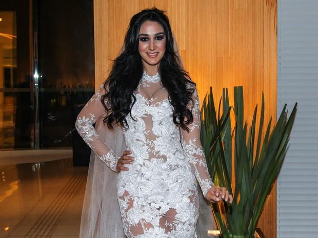 Marina Elali em evento de moda em São Paulo (Foto: Manuela Scarpa/ Foto Rio News)