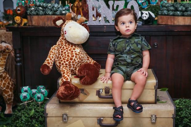 Enzo, filho de Luiza Mell (Foto: Manuela Scarpa/Brazil News)