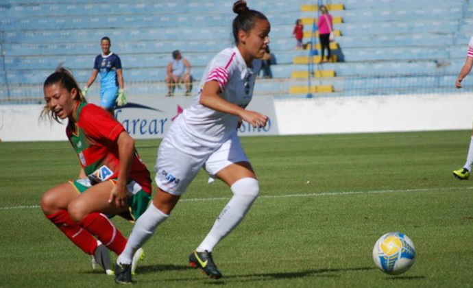 São José Futebol Feminino x Portuguesa Futebol Feminino Campeonato Paulista 2015 (Foto: Rodolfo Moreira/Jornal Joseense)