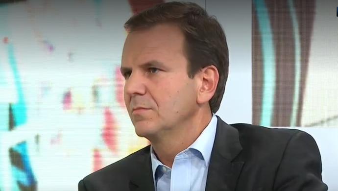 Eduardo Paes, prefeito do Rio de Janeiro, Seleção SporTV (Foto: Reprodução SporTV)