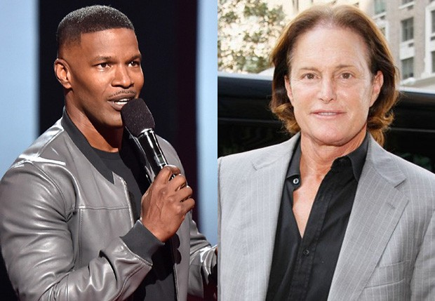 Jamie Foxx e Bruce Jenner (Foto: Getty Images)