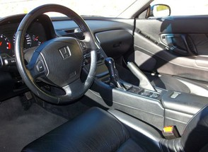 Interior do Honda NSX dirigido por Ayrton Senna (Foto: Divulgação)