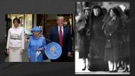 Observadores acreditam que a rainha da Inglaterra usa broches para dar recados