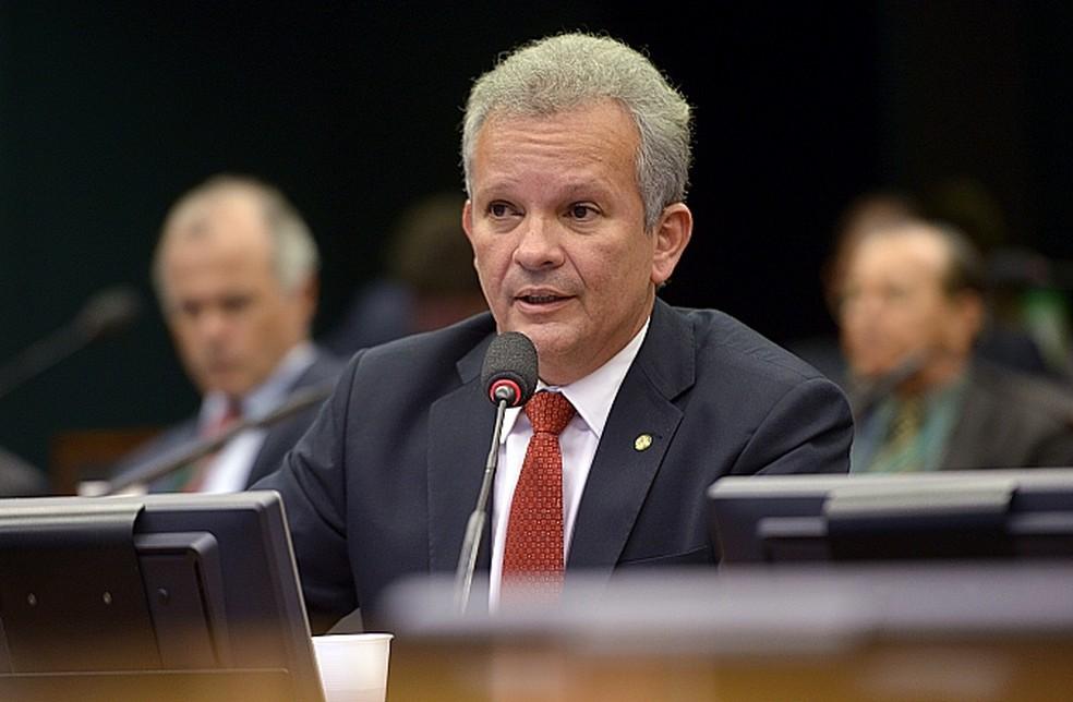 O deputado André Figueiredo (PDT-CE), durante audiência pública na Câmara (Foto: Leonardo Prado/Câmara dos Deputados)