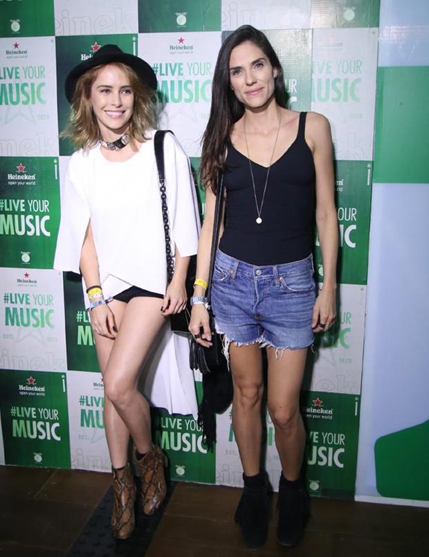 Fernanda Nobre e Rafaela Mandelli (Foto: Daniel Pinheiro/Agnews )
