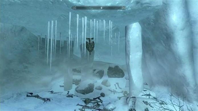 Luke morto em Skyrim (Foto: Reprodução/GamesRadar)