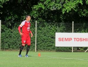 Lucio treino São Paulo (Foto: Gustavo Serbonchini)