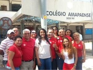 Dora Nascimento, do PT, candidata à Prefeitura de Macapá (Foto: Fabiana Figueiredo/G1)