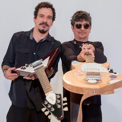 Yuri Queiroga e Pedro Luís (Foto: Ana Paula Amorim)