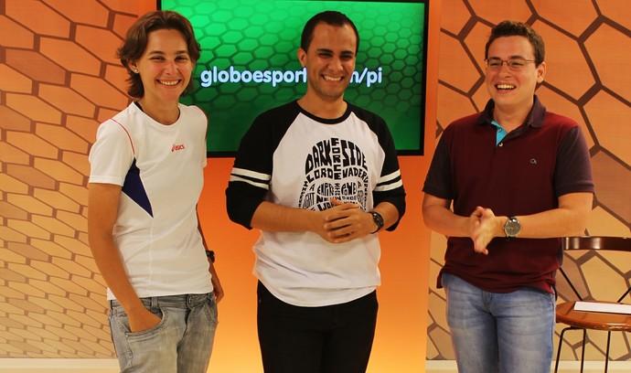 Central da Série D: RIver-PI (Foto: Divulgação/TV Clube)