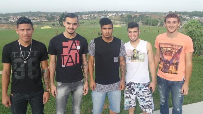 Ronaldo Zilio, Mota, Cleiton, Ianson Edy Criciúma (Foto: Fernando Ribeiro/Criciúma EC)