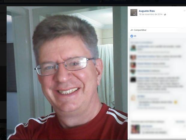 Corpo de pastor foi encontrado no fim do sábado (18) (Foto: Facebook/Reprodução)