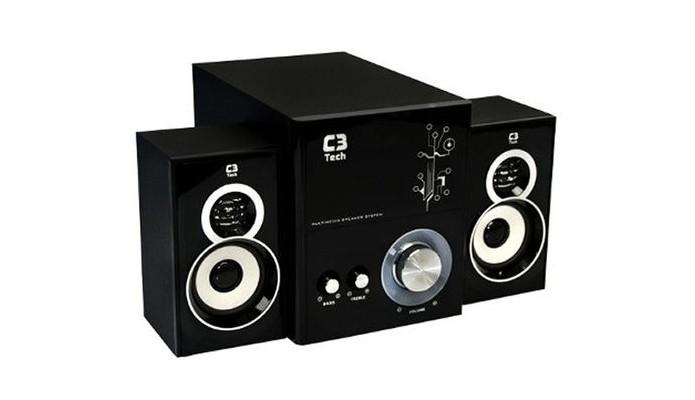 Caixa de som amplificada 2.1 C3 Tech SP-232 (Foto: Divulgação/C3 Tech)