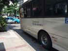 Mulher é atropelada por um ônibus em Botafogo, na Zona Sul do Rio