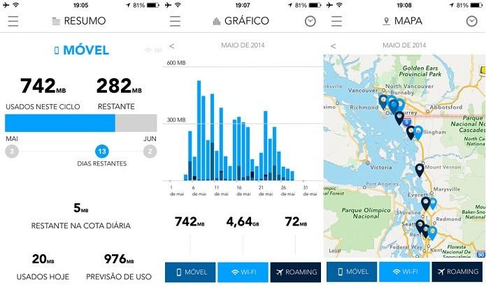 Fique de olho no uso do plano de dados do celular com o My Data Manager (Foto: Divulgação/AppStore)