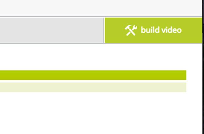 Clique em Build Video para criar o slideshow (Foto: Reprodução/André Sugai)