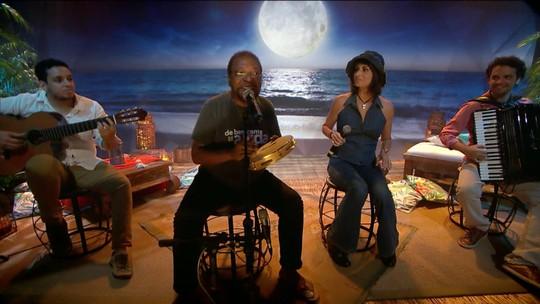 Noites de Luar: Fernanda Abreu e Martinho da Vila cantam Luiz Gonzaga