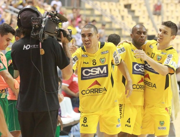 Pepita Jaraguá Cabo Frio Liga Futsal (Foto: Beto Costa/CSM)
