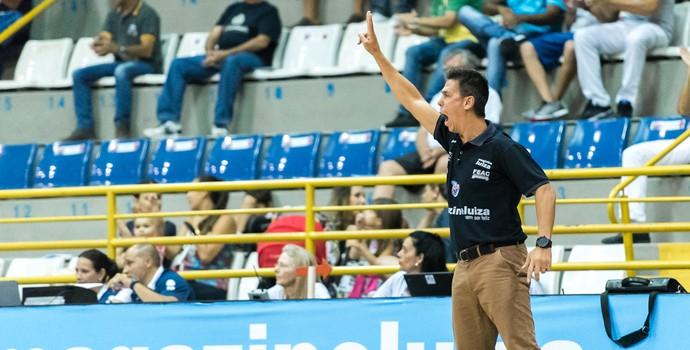 helinho técnico do franca basquete (Foto: Newton Nogueira/Franca Basquete)