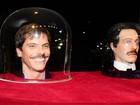 'Não sou apenas uma cabeça', diz ator sobre personagem em novela